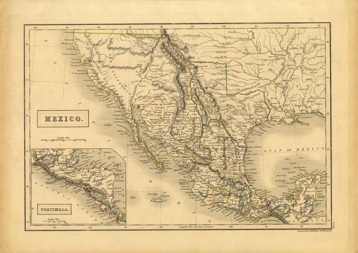 Mexico. Guatimala.