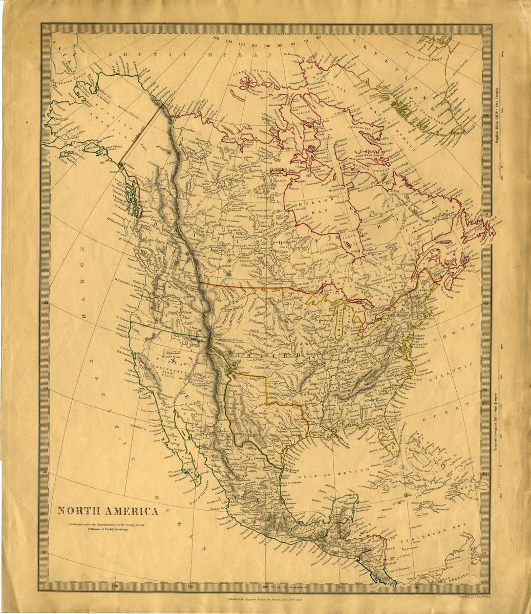 North America, published under the superintendence of the Society for the Diffusion of Useful Knowledge