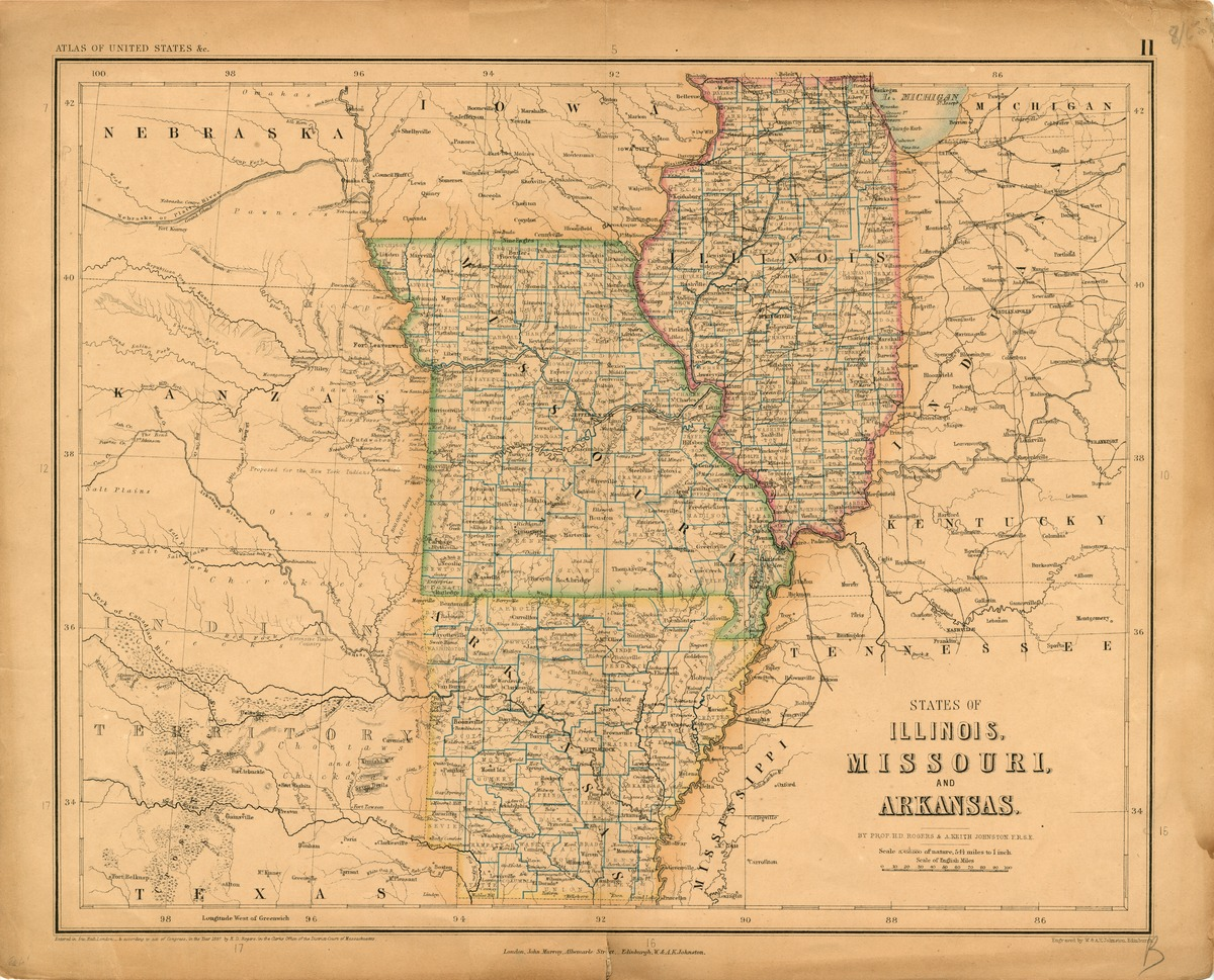 States of Illinois, Missouri, and Arkansas