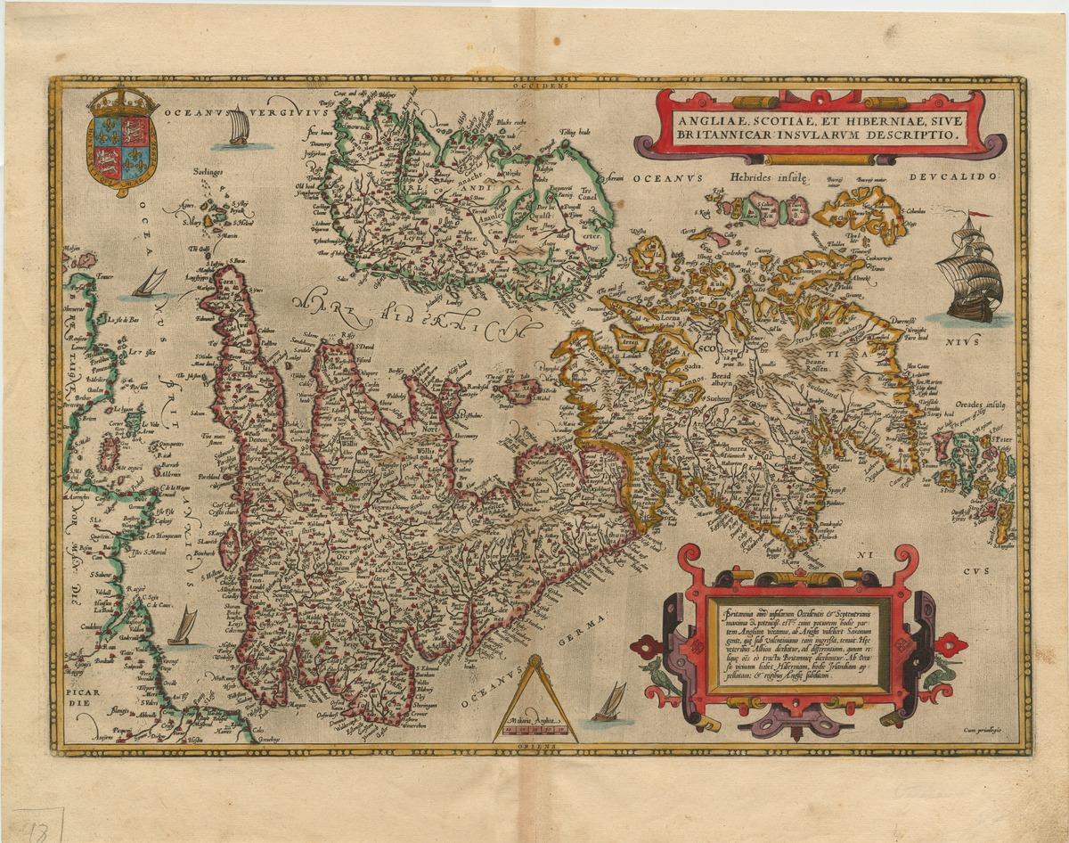 Angliae, Scotiae, et Hiberniae, sive Britannicar : insularum descriptio