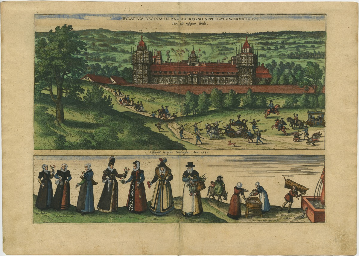 Palatium Regium in Angliae Regno appellatum Nonciutz