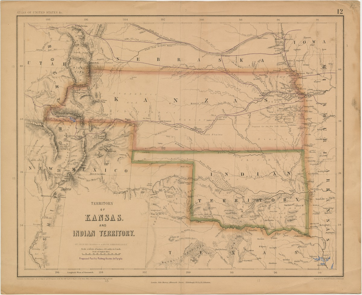 Territory of Kansas and Indian Territory