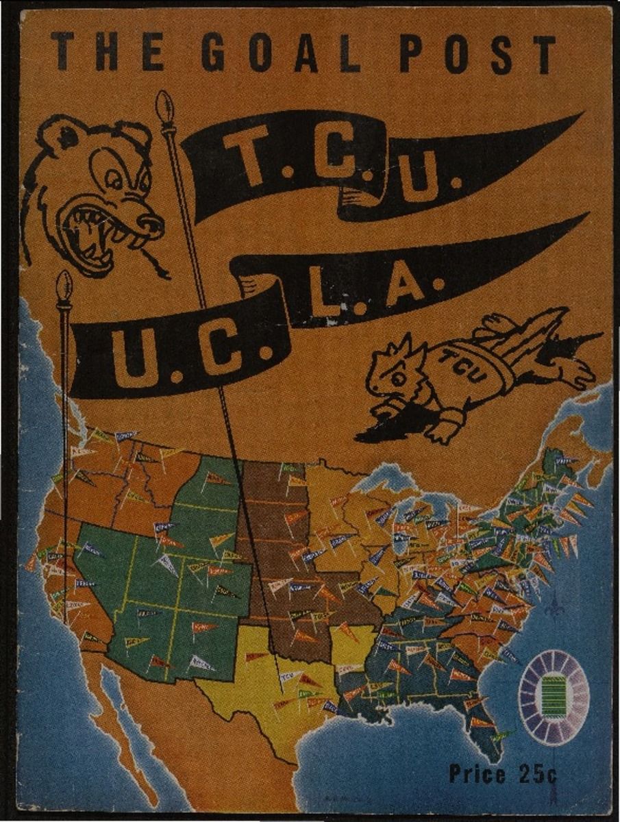 TCU v UCLA football program