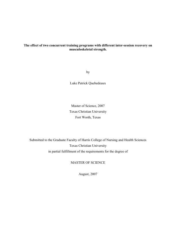 tcu thesis repository