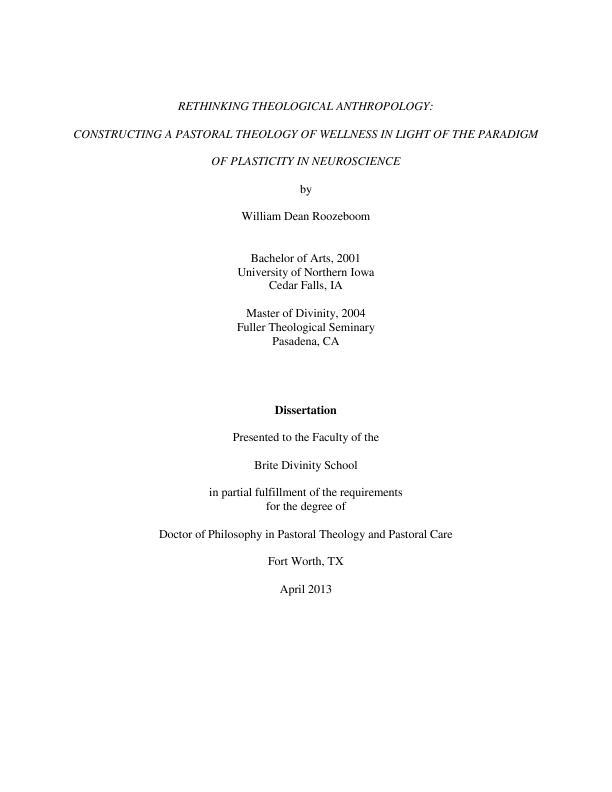Dissertation pastoral argumentative essay on fear