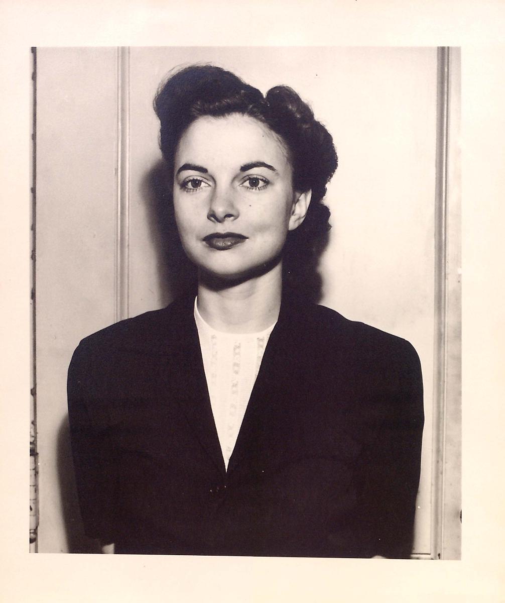 Grace Halsell passport photo